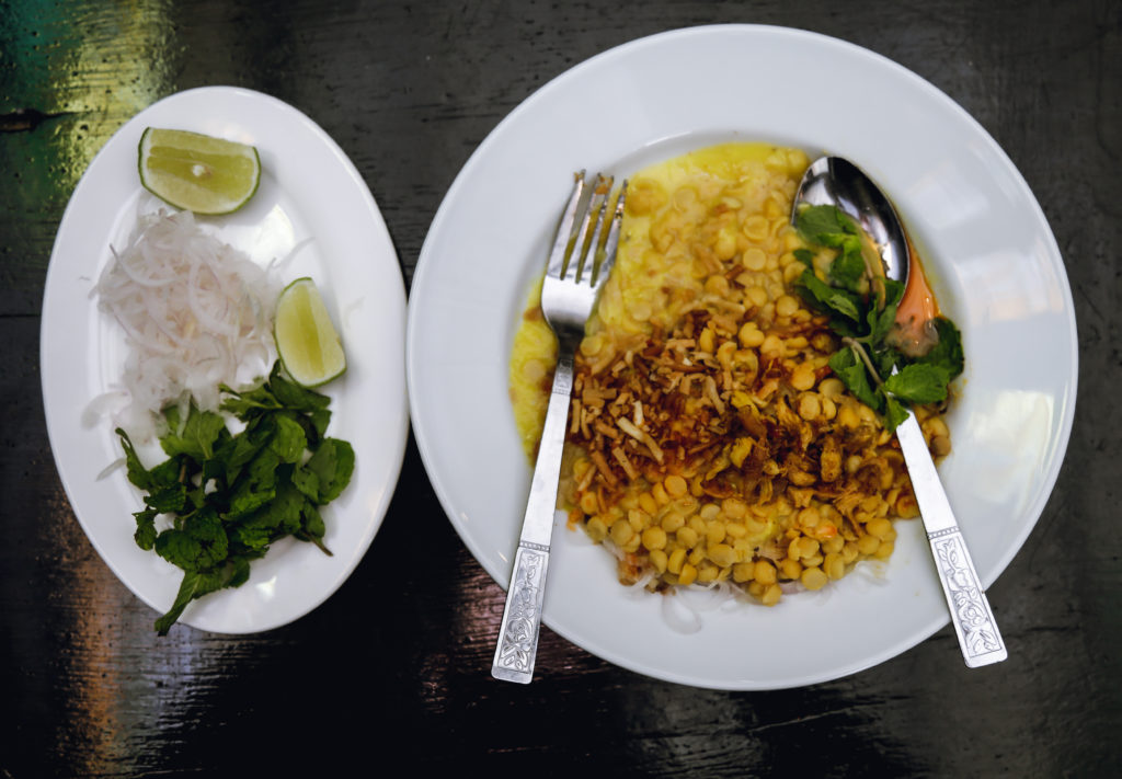 Food from Middle Burma at Anya Ahta