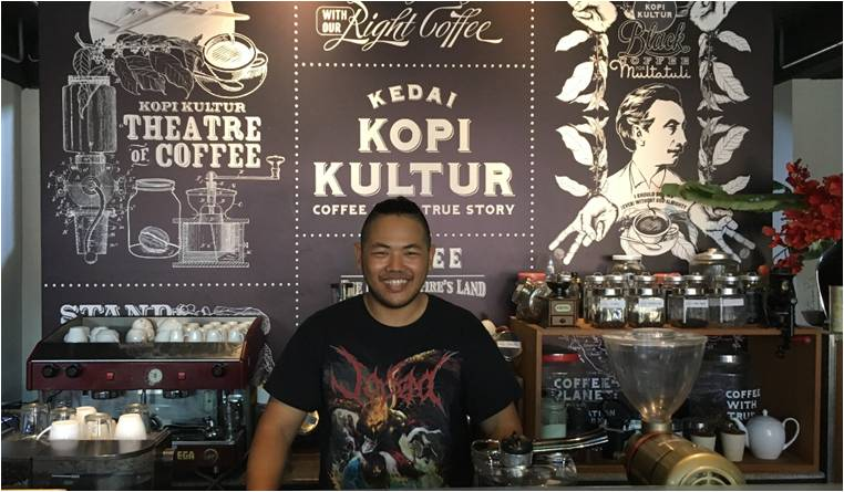 Coffee in Bali Kampul co-working space