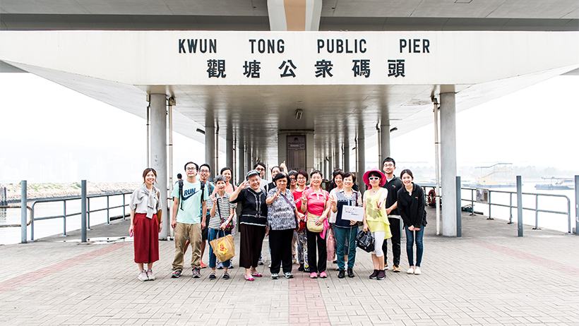 HK Elderly tour guides