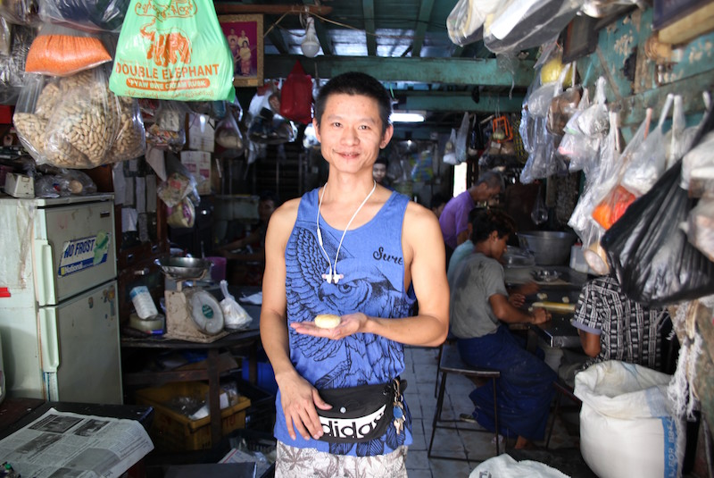 Yangon rabbit bakery owner