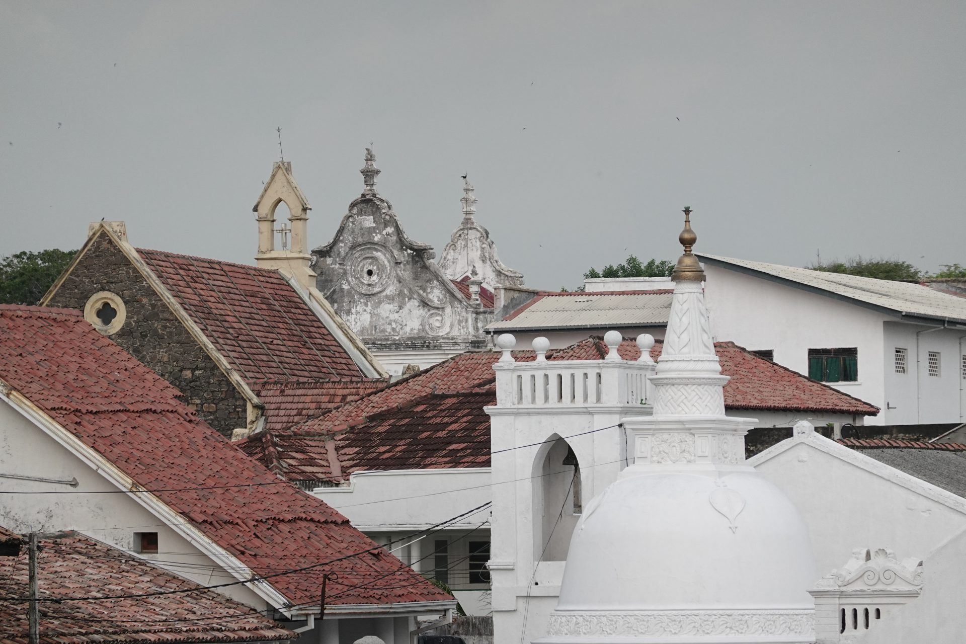 galle fort architecture