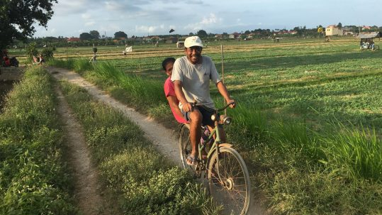 Sanur Cycling Tour Bali Bike Route